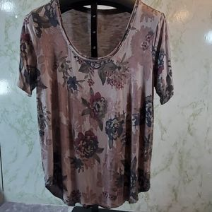 Maurices 24/7 Floral Tee